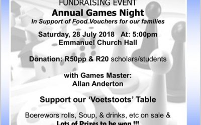 2018 Annual Games Night